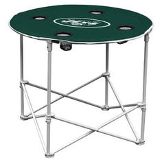 Logo Chairs NFL Round Table NFL Team: New York Jets