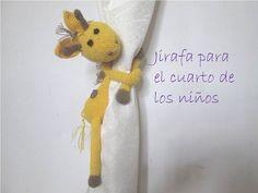 DIY Mono sujeta cortinas amigurumi crochet/ganchillo (tutorial) - YouTube