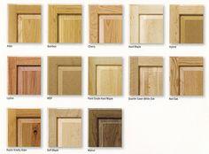 sample cabinet doors