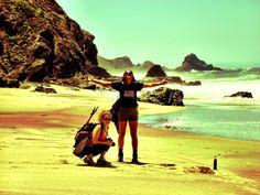 Big Sur, ocean, beach, summer, hiking, backpacking, outdoors, nature