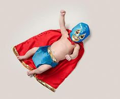 Baby luchador (Yeah, totally gonna do this!)