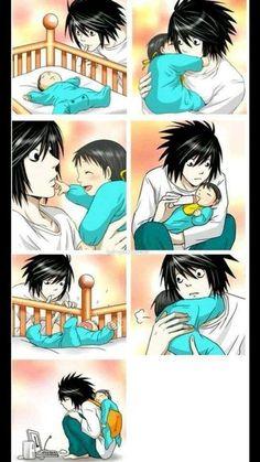 Image de L, death note, and anime Death Note I, Death Note Fanart, Death Note Funny, Death Note Light, Otaku Anime, Anime Guys, Manga Anime, Art Manga, Anime Meme