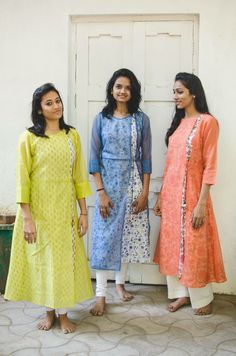Salwar Pattern, Kurti Patterns, Dress Patterns, Ethnic Fashion, Indian Fashion, Boho Fashion, Fashion Ideas, Salwar Designs, Blouse Designs