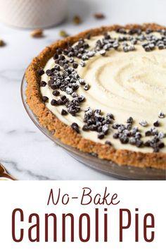 Mini Desserts, Easy Desserts, Delicious Desserts, Dessert Recipes, Yummy Food, Baking Desserts, Cake Baking, Easy Italian Desserts, Non Bake Desserts