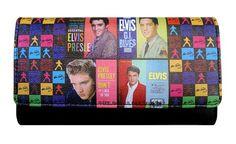 Colorful Licensed Elvis Presley Wallet