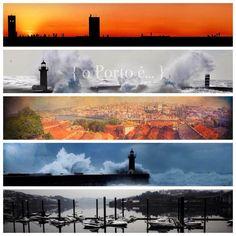 o Porto é... o rio que corre para o mar