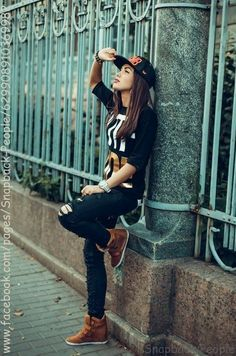 cute snapbacks for girls | Fashion, Girl with Snapback