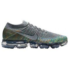 ab30e28aa2 Nike Air VaporMax Flyknit-Men's-Running-Shoes-Dark Grey/Reflect Silver/Blue  Orbit/Hyper Punch-sku:9558019