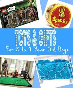 Best Gifts for 8 Year Old Boys in 2013 - Top Picks for Christmas, Birthday & 8-9 Year Olds