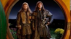 Kili and Fili from The Hobbit...my favorite dwarfs