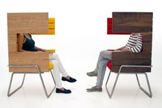 GiBooth chair by Jakob Gómez » Retail Design Blog