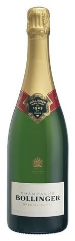 In stock - 45,45 € NV Bollinger Special Cuvée Brut, white dry , France - 93pt Champagne of soft straw yellow colour with neverending sparkling. In its aroma is unique aroma of fruffle, chalk and soft hint of wood. In its taste is ice cold or even mettalic taste, enriched by extraordinary structure of this prestigious champagne. Aftertaste is long, noble.
