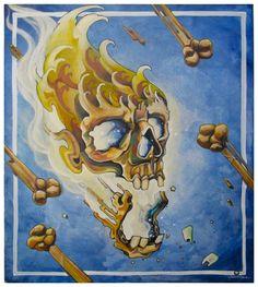 Crushing skull