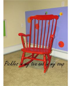Rocking Chair Redo - Need to strip and paint mine!