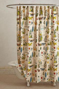 Entomology Shower Curtain - anthropologie.com | Design. Decorative. F…
