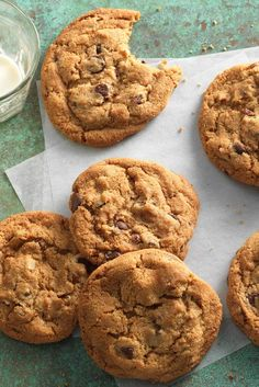 "Joy the Baker's brown butter chocolate chip cookies. Crunchy edges surrounding a moist, ""bendable"" center give this cookie wonderful texture. And the addition of aromatic brown butter, plus a sprinkle of sea salt, take their flavor out of this world. Thanks, Joy!"