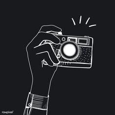Vintage Cameras Collecting vintage camera is a exciting method to gain knowledge about background photography. While quite a few people are advancement to effectively dissonant, picture cameras aren't sufficiently old to be considered archaic Camera Clip Art, Camera Drawing, Camera Illustration, Japon Illustration, Dark Photography, Photography Camera, Camera Cartoon, Flower Art Drawing, Camera Logo