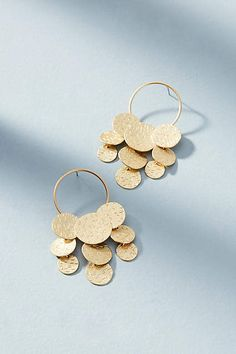 Anthropologie Coin Cascade Earrings #ad #AnthroFave #AnthroRegistry Anthropologie