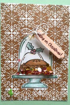 Dit is mijn inspiratiekaart voor week 41. Het is een schudkaart gemaakt met de Sweets & Treats stempelset. Ik heb een Cloche Shaker Dome gebruikt om de Sequins For Everything in te kunnen laten rondschudden en de kaart afgemaakt met het Gingerbread & Peppermint designpapier. Nou, laat de kerst maar komen! #prulleke #prullekekleurencombinatie #sweetsandtreatsstampset #clocheshakerdomes #clochedies #gingerbreadandpeppermintdsp #stampinupnederland #stampinupdemonstratrice Stampin Up, Sweets, Christmas Ornaments, Holiday Decor, Gummi Candy, Candy, Christmas Jewelry, Stamping Up, Goodies