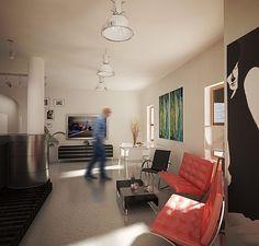 Design interior, living room