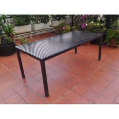 Table wrought iron. Coffee Table. Customize Realizations. 618