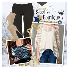 """""""SEASIDE BOUTIQUE - Winter looks!"""" by anita-n ❤ liked on Polyvore featuring Kate Spade and Christian Louboutin"""