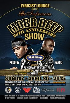 Mobb Deep 20th Anniversary of The Infamous (4.26.15)