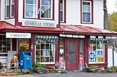 vermont general stores   The general store in East Poultney, VT, USA