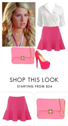 """Sharpay Evans"" by charmedgreys ❤ liked on Polyvore featuring Pierre Balmain and Christian Louboutin"