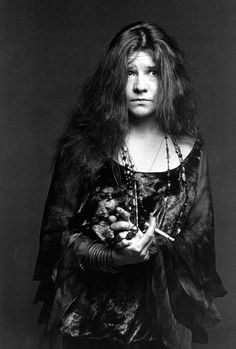 Janis Joplin 1967. She is later recognized to have incarnated Dark Age Goths, Bohemian Goths or more precisely Celtic Goths.Her life was short and illustrates the Gothic spirit flirting with death. Janis, Brian Jones,Jim and Jimi all died within 2 years... Nico died a little later.. Goth very often has unfortunately a very close relation with Death itself...  From a post called : ''The Dark Angels of Altamont/Gothic Requiem for the Flower Power'' on Loud Alien Noize