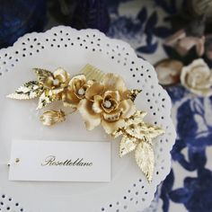 @rosetteblanc_y.s_han  #bridalcorsage #bridalheadpiece #weddingdress #selfwedding #vintagewedding #bride #bridal #weddingdress #weddinggown #bridalgown #bridalshower #weddingaccessories #weddingphotography #bridalaccessories #bridalheadpieces #rosetteblanc ��  Rosetteblanc is a brand that is a high-end hand-crafted wedding hair accessory worth collecting in which all items are designed  and made by the master from the start to finish.  The products are not in stock, and it takes time to…