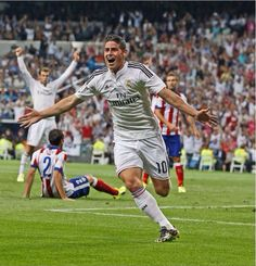 James is Real. His first goal!