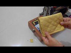 लेडीज़ पर्स कैसे बनाये   - YouTube Indian Art Paintings, New Handbags, How To Make Handbags, Coin Purse, Pouch, Purses, Sewing, Fabric, Cover