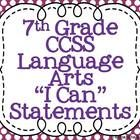 Common Core Standards and Substandards Posters  This packet includes everything you need to post the Common Core Standards you are working on in yo...