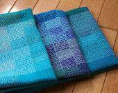 Large Kitchen Dish Tea Hand Bread Towel- Handwoven Color Blocks