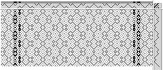 Strickler | page 89, 323-4 turned | 8-shaft, 8-treadle weaving draft from weaving software