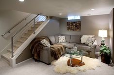 24 Stunning Ideas For Designing a Contemporary Basement Basement Stairs Basement Contemporary designing ideas Stunning Basement Windows, Basement House, Basement Stairs, Basement Bathroom, Bedroom In Basement Ideas, Walkout Basement, Gray Basement, Basement Decorating Ideas, Rustic Basement