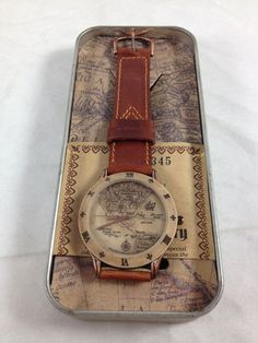 Christopher Columbus Watch America Discovery 1492-1992 Dejuno w Tin Numbered COA #Dejuno #Casual