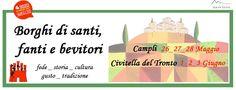 BORGHI DI SANTI, FANTI E BEVITORI *Abruzzo Open Day* | Eventi Teramo #campli #eventiteramo #eventabruzzo #opendayabruzzo #rockanthology