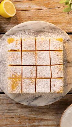 Tastemade: 5 Ingredient Lemon Bars ~ Recipe