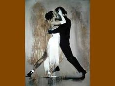 Tango by Yuliya Volynets Shall We Dance, Just Dance, Tango Art, Tango Dancers, Kinds Of Dance, Dance Paintings, She's A Lady, Partner Dance, Argentine Tango