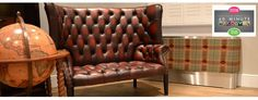 Designer radiator covers, tv covers and console tables - Couture Radiator Cover in fabric soft upholstery