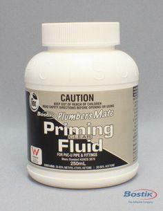 Bostik Plumbers Mate Priming Fluid (Red & Clear)