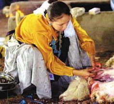 Greyhills Freshmen Academy: Traditional Navajo Food