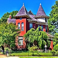 Victorian home in Little Rock Arkansas