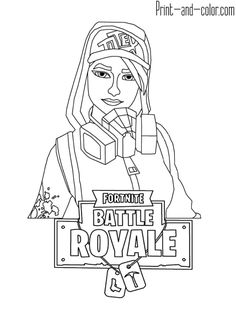 52 Best Fortnite Coloring Pages Images Coloring Books