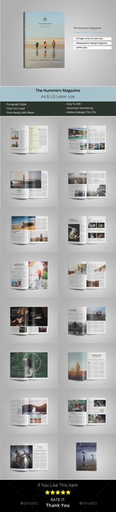 The Hummers Magazine Template - Magazines Print Templates Download here : https://graphicriver.net/item/the-hummers-magazine-template/19642509?s_rank=23&ref=Al-fatih