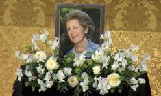 Funeral, Princess, Royal Families, Royals, Cathedral, Floral Wreath, Wreaths, Link, Decor