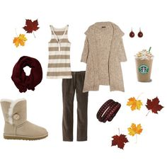 Fall Time Fun I could wear clothes like this every day! Just looks comfy! Oh and the coffee!!!!