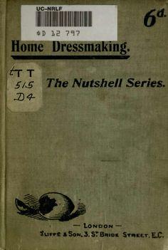 Home Dressmaking - The Nutshell Series